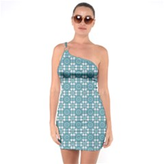 Ningaloo One Soulder Bodycon Dress by deformigo