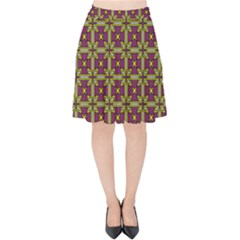 Megara Velvet High Waist Skirt by deformigo