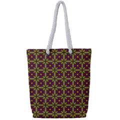 Megara Full Print Rope Handle Tote (small) by deformigo
