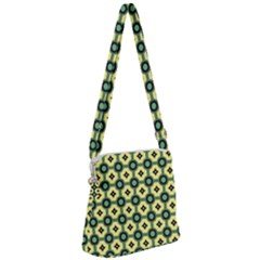 Thysiani Zipper Messenger Bag by deformigo