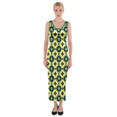 Thysiani Fitted Maxi Dress by deformigo