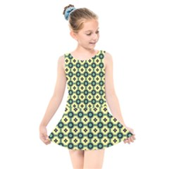 Thysiani Kids  Skater Dress Swimsuit by deformigo