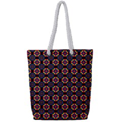 Whitika Full Print Rope Handle Tote (small) by deformigo