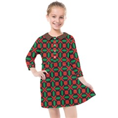 Singidis Kids  Quarter Sleeve Shirt Dress by deformigo