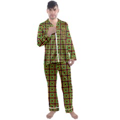 Satafi Men s Satin Pajamas Long Pants Set by deformigo