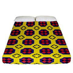 Memphis Fitted Sheet (california King Size) by deformigo