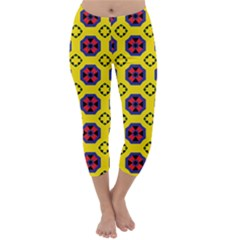 Memphis Capri Winter Leggings  by deformigo