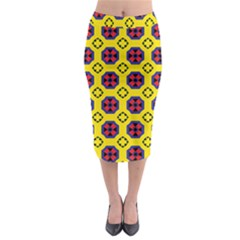 Memphis Midi Pencil Skirt by deformigo