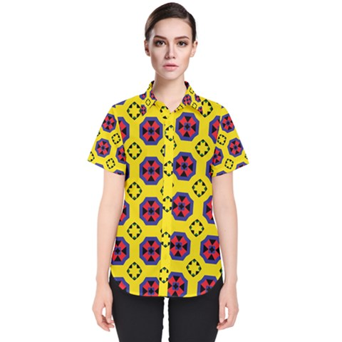 Memphis Women s Short Sleeve Shirt by deformigo