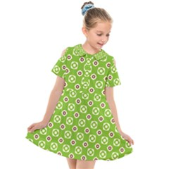 Sintica Kids  Short Sleeve Shirt Dress by deformigo