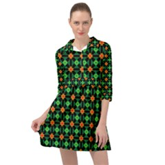 Imogene Mini Skater Shirt Dress by deformigo