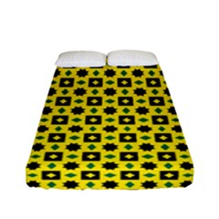Stonecrops Fitted Sheet (full/ Double Size) by deformigo