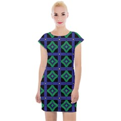 Vineta Cap Sleeve Bodycon Dress by deformigo