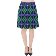 Vineta Velvet High Waist Skirt by deformigo