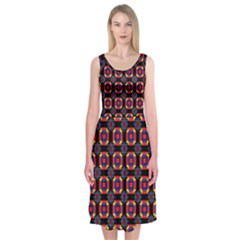 Irrigon Midi Sleeveless Dress by deformigo
