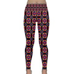Irrigon Lightweight Velour Classic Yoga Leggings by deformigo