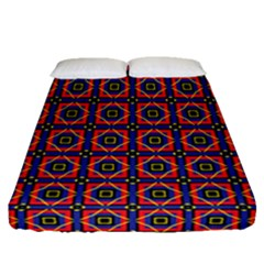 Torenia Fitted Sheet (queen Size) by deformigo