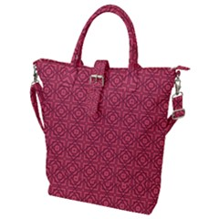 Lantana Buckle Top Tote Bag by deformigo