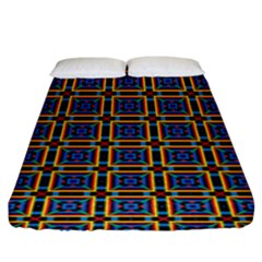 Crosslake Fitted Sheet (king Size) by deformigo
