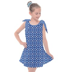 Lagoonis Kids  Tie Up Tunic Dress by deformigo