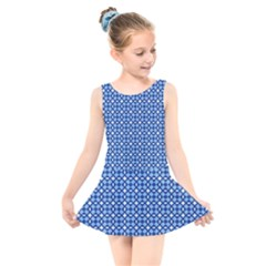 Lagoonis Kids  Skater Dress Swimsuit by deformigo