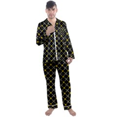 Jazz Men s Satin Pajamas Long Pants Set by deformigo