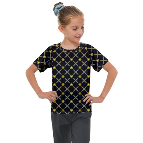 Jazz Kids  Mesh Piece Tee by deformigo