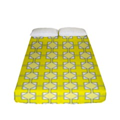 Goldenrod Fitted Sheet (full/ Double Size) by deformigo