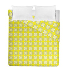 Goldenrod Duvet Cover Double Side (full/ Double Size) by deformigo