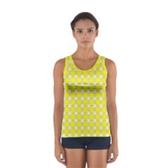 Goldenrod Sport Tank Top  by deformigo