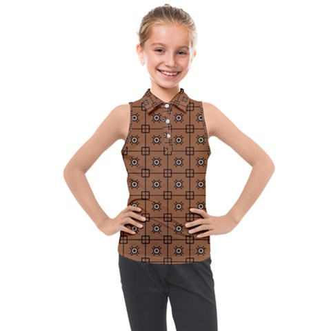 Midica Kids  Sleeveless Polo Tee by deformigo