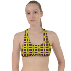 Arutelos Criss Cross Racerback Sports Bra by deformigo