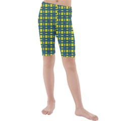 Wannaska Kids  Mid Length Swim Shorts