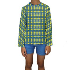 Wannaska Kids  Long Sleeve Swimwear