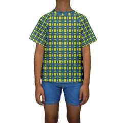 Wannaska Kids  Short Sleeve Swimwear