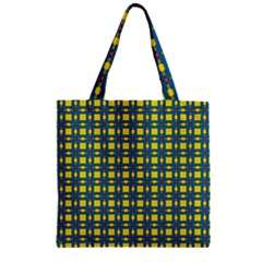 Wannaska Zipper Grocery Tote Bag