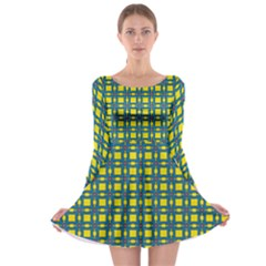 Wannaska Long Sleeve Skater Dress