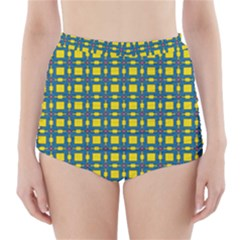 Wannaska High-Waisted Bikini Bottoms