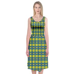 Wannaska Midi Sleeveless Dress