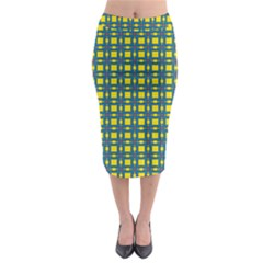Wannaska Midi Pencil Skirt