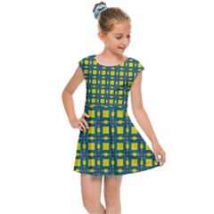 Wannaska Kids  Cap Sleeve Dress