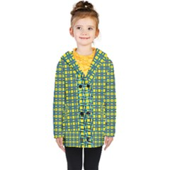 Wannaska Kids  Double Breasted Button Coat
