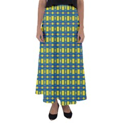 Wannaska Flared Maxi Skirt