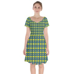 Wannaska Short Sleeve Bardot Dress