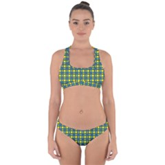 Wannaska Cross Back Hipster Bikini Set