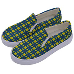 Wannaska Kids  Canvas Slip Ons by deformigo