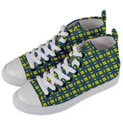 Wannaska Women s Mid-Top Canvas Sneakers