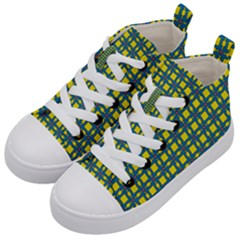 Wannaska Kids  Mid-Top Canvas Sneakers