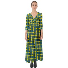 Wannaska Button Up Boho Maxi Dress