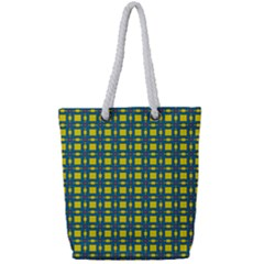 Wannaska Full Print Rope Handle Tote (Small)